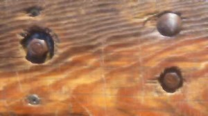 Крепление досок при ремонте кузова УАЗ